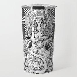 Aquarius (horoscope sign) Travel Mug