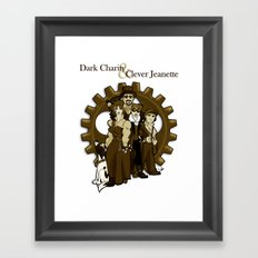 Dark Charity & Clever Jeanette Framed Art Print