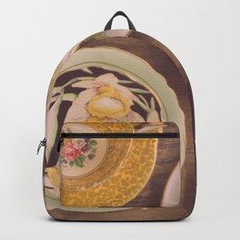 Vintage Teacups Backpack