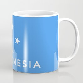 flag of Micronesia Coffee Mug