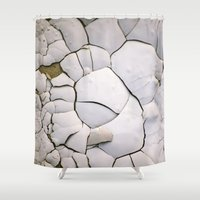 shell Shower Curtains featuring Shell by CrookedHeart