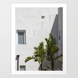 Palms of Avila Beach Art Print