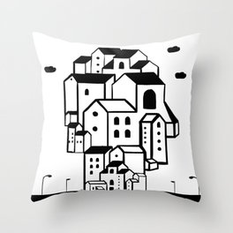 where is your home? Throw Pillow