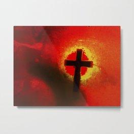 RedCross Metal Print