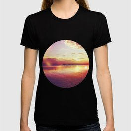 Tropical sunset on a calm beach T-shirt