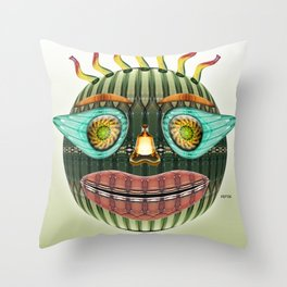Bottlehead #1 Throw Pillow