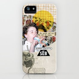 Gourmandise iPhone Case