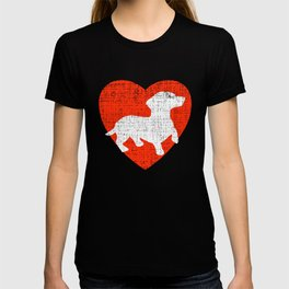 Heart For Dachshunds T-shirt