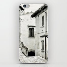 Italian street view 03 iPhone Skin