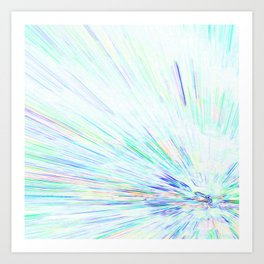 Re-Created Rapture 6 by Robert S. Lee Art Print
