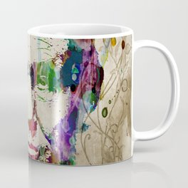 Abraham Lincoln Watercolor Modern Abstract GIANT PRINT ART Coffee Mug