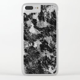 Texturized Pavement Clear iPhone Case