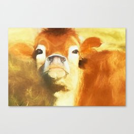 A Moo Attitude Canvas Print