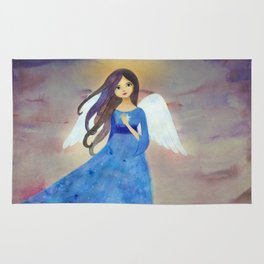 Christmas Angel Rug