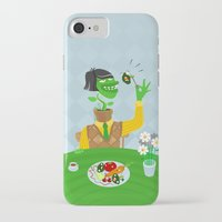 vegetarian iPhone & iPod Cases featuring Vegetarian parody by Bakal Evgeny