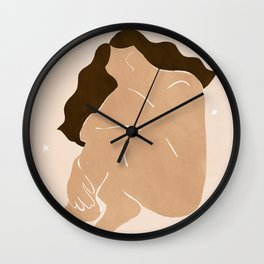 Freedom of the Universe Wall Clock