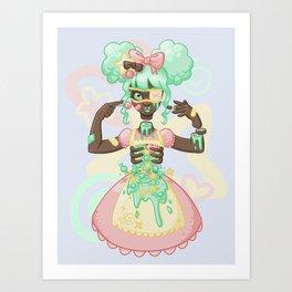Pastel Candy Gore Art Print