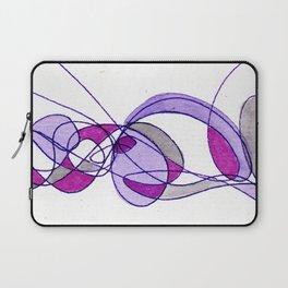 Violet Drift Laptop Sleeve