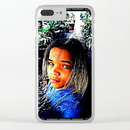 Prince Tyme 03 Clear iPhone Case