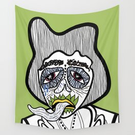 Tongue tied Wall Tapestry