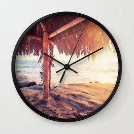 Daytona Beach Wall Clock
