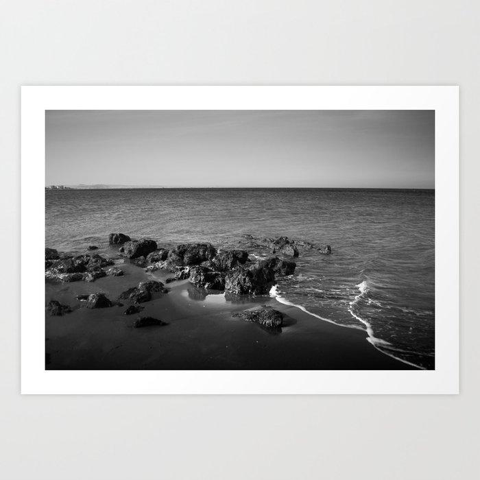 BEACH DAYS XXVII Art Print