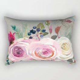 Flowers bouquet #42 Rectangular Pillow
