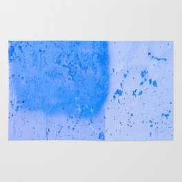 Stonewall in Pale Cerulean and Cyan Rug