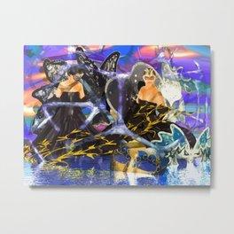 Maskenball Metal Print