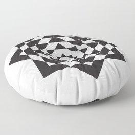 Geometric Experiments - 1 Floor Pillow