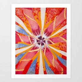 Spring Rays Art Print