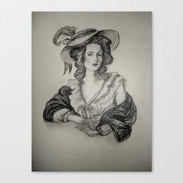 French Sketch IV Canvas Print