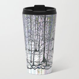 brazzeau forest mashup Travel Mug