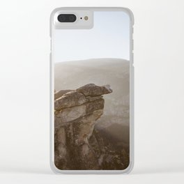Cliff Clear iPhone Case
