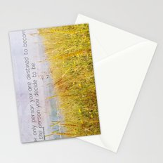 The Only Person Stationery Cards