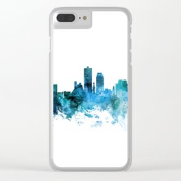 Knoxville Tennessee Skyline Clear iPhone Case
