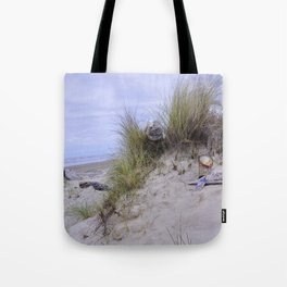 Waldport Oregon - Sand Time Tote Bag
