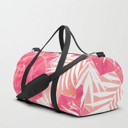 Big Dreamy Blush Echeveria Illustration Duffle Bag
