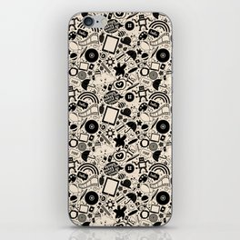Design Makes The World Go 'Round iPhone Skin