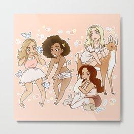 Princesses Metal Print