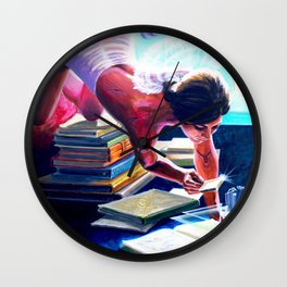 """Artificial Intelligence"" by Adam France Wall Clock"