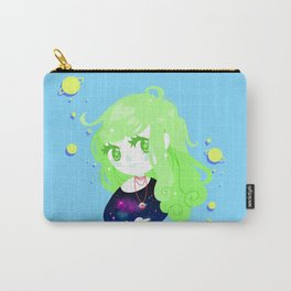 Space Cutie (green) Carry-All Pouch