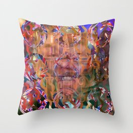 WHAT'S UP 06 Throw Pillow