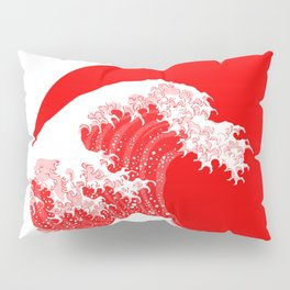 Hokusai great wave of Kanagawa Pillow Sham