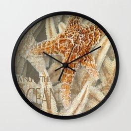 Living in the Ocean Wall Clock