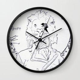 Richard Coeur Wall Clock