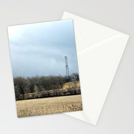 Talking with God ~ Highway 401 Landscape Series | Nadia Bonello Stationery Cards