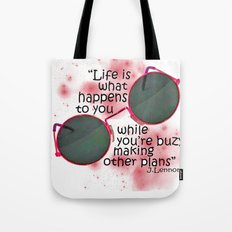 Life By Lennon Tote Bag