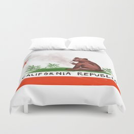 Smokey Bear Duvet Cover