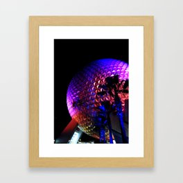 EPCOT: Different at Night Framed Art Print